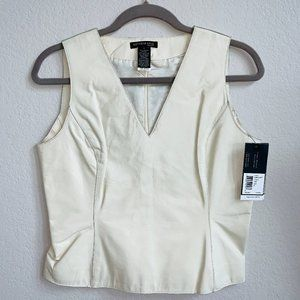 Kenneth Cole leather top